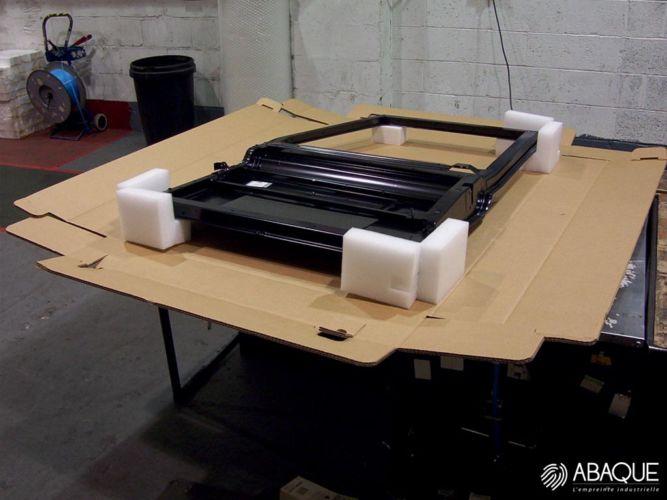 Mousse de calage pour emballage - Groupe Abaque - Condi Atlantique - fabricant mousse polyéthylène