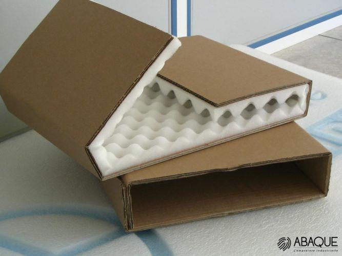 colis fragile - Groupe Abaque - Condi Atlantique - emballage industriel mousse polyuréthane
