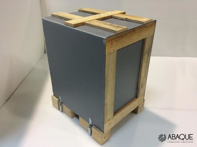 wrap emballage industriel - Groupe Abaque - Condi Atlantique - wrap around