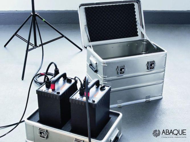 emballage en aluminum- Groupe Abaque - Condi Atlantique - caisse en aluminium