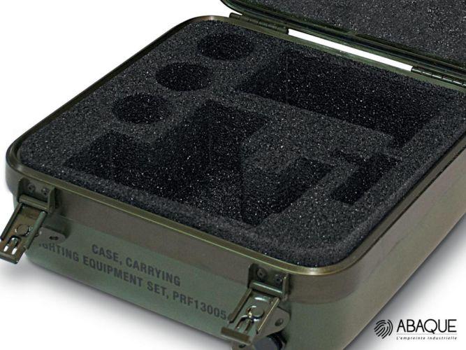 mousse pour flycase - Groupe Abaque - Condi Atlantique - flight case sur mesure france