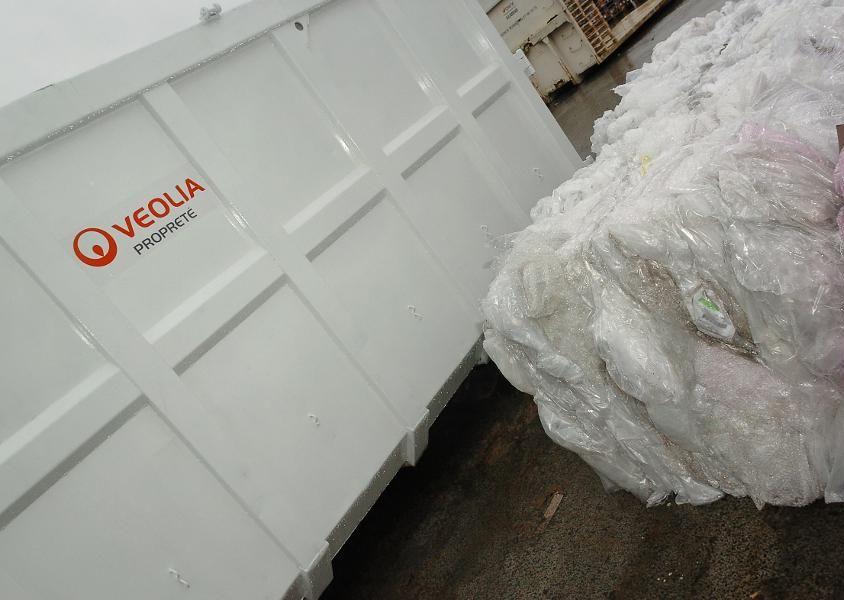 visuel recyclage veolia groupe abaque